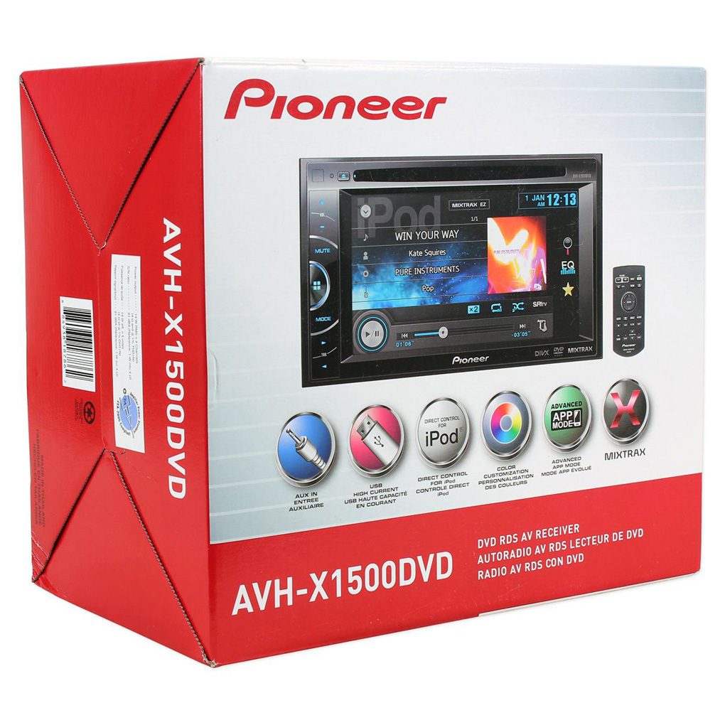 Bluetooth Connection Adapter For Pioneer Car Stereo Ip Bus: Car Speakers, Audio System